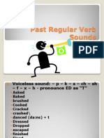 How to Pronounce Past Regular Verb