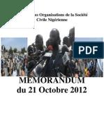 Discours Meeting du 21 octobre 2012