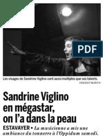 [2006-03-27] Sandrine Viglino en mégastar, on l'a dans la peau