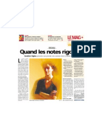 [2006-03-03] Quand les notes rigolent