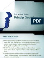 Desain Berbasis Prinsip Gestalt