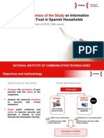 (English version) Executive Summary of the Study on Information Security and e-Trust in Spanish Households (1st four-month period of 2012)