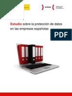 Estudio sobre la protección de datos en las empresas españolas