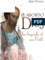 Decaux, Alain - El Aborto de Dios San Pablo
