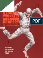 Burne.Hogarth.-.Dynamic.Wrinkles.And.Drapery(动态素描.着衣人体