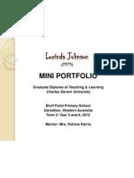 lucinda johnson mini portfolio