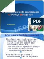 Le Management de La Connaissance Et Gestion Des Conflits