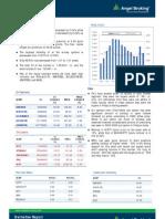 Derivatives Report 22 Oct 2012