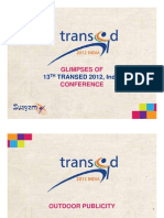 Glimpses -TRANSED 2012 Conference