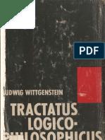 WITTGENSTEIN, Ludwig. Tractatus Logico-Philosophicus (1968)