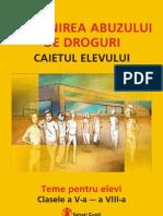 Prevenirea Abuzului de Droguri_V-VIII