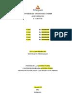 1 - Tecnicas de Negociacao_PADRAO de TRABALHO