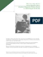 a leitura enquanto prática social e a intervenção da escola