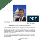 Jeb Bush Endorsement 22OCT2012