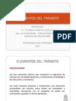 Clase 2.1 - Elementos del tránsito2012