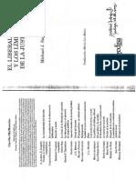 32 Sandel Michael El Liberalismo y Los Limites de La Justicia Teoria Contractualista y Justificacion