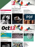 Agenda Cultural Canarias, semana del 22 al 18 oct'12