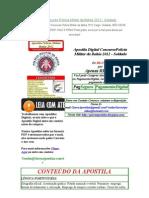 Apostila Digital Concurso Polícia Militar da Bahia 2012