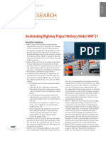 Accelerating Highway Project Delivery Under MAP-21
