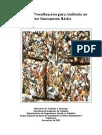 Manual de Auditoria Em Saneamento