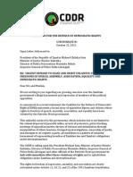 Open Letter to President Michael Sata