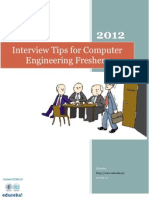 Interview Tips for Computer Engineering freshers