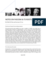 Notes on Fascism by Noble M. Notas, Lawrance G. Lux