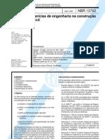 NBR 13752 - 1996 - Perícias de Engenharia na Construção Civil