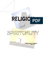 Religion and Spirituality - Shayne