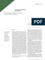 artigo problematização como estratégia de educação nutricional
