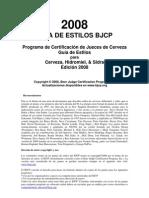 Guía de estilos de cerveza 2008 BJCP - Manuel Jim