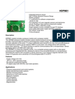 Senzor Temp+ Baro+ Compas HDPM01
