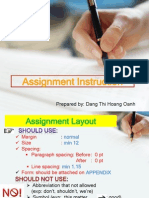 Assignment Instruction 1