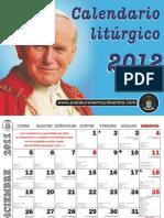 Calendario Liturgico 2012 - C