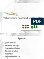 Taller Breve Introduccion Git