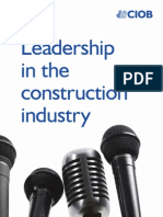 Leadership in the Construction Industry 2008