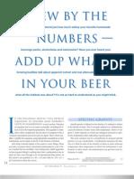 Las Matematicas en La Cerveza