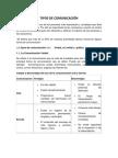 TIPOS DE COMUNICACIÓ--2
