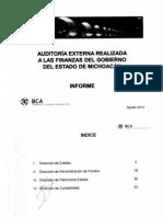 Informe Auditoria Externa a Las Finanzas Estatales