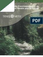 Les indicateurs d'environnement et de développement durable pour le Canada