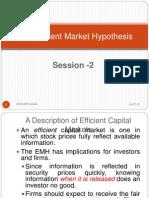 Ses 2-Efficient Market Hypothesis
