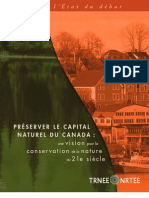 Préserver le capital naturel du Canada