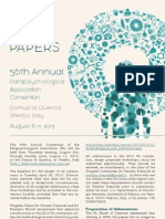 2013 PA Convention Call for Papers