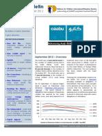 Defence for Children International-Palestine's monthly bulletin on detention - Issue 33 - September 2012