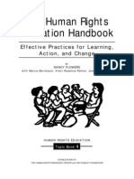 Human Rights Education Handbook
