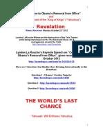 Revelation La Rouch Keynote Speech 22.10
