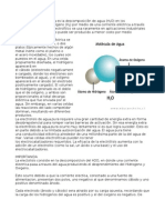 Electrolisis Del Agua Informe