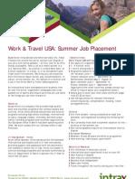 Summer Jobs USA