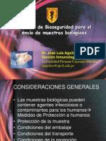 Bioseguridad Envio Muestras EsSALUD
