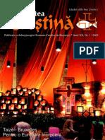 """Revista """"Actualitatea Creştină"""", luna ianuarie 2009"""